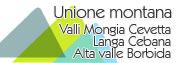 Unione montana delle valli mangia, cevetta, Langa, Cebana, Alta valle Bormida